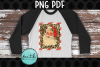Santa with Leopard Print Fram example image 1
