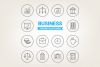 Circle Business Icons example image 1