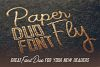 Paperfly Font Duo example image 4