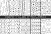 Vector seamless geometric patterns example image 1