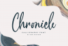 Chronicle Calligraphy Font example image 1