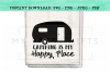 Camping Is My Happy Place SVG Design example image 2