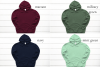 Hoodie Mockup Bundle Gildan 18500 Basic hoodie mockups example image 6