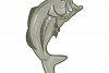 largemouth bass jumping example image 1