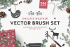 Sweater Weather Vector Brush Set example image 1
