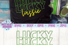 Lucky Lassie SVG | St. Patrick's Day SVG example image 2