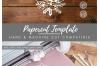 Christmas Mummy & Baby Fox - SVG EPS DXF PNG PDF JPG example image 4