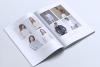 NEBULA Minimal Lookbook Magazine Styles example image 9