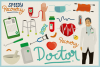 Health Care & Medical Vector Clipart & Seamless Patterns example image 4