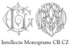 Intellecta Monograms CB CZ example image 2