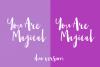 Amist Mystical Script Fonts example image 4