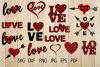 Buffalo Plaid Heart SVG, Plaid Love SVG, Valentine Heart example image 1