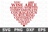 Word Heart - An Inspirational SVG Cut File example image 1