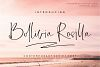 Bollivia Rosilla Script example image 1