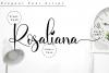 Rosaliana Script example image 10
