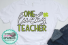 One lucky teacher svg,lucky teacher,irish svgs,irish svg example image 1