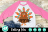 Mosaic Turkey - A Thanksgiving SVG Cut File example image 1