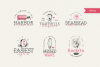 The Bearded Sailor - Tattoo Font / Line Font / Logo Font example image 3