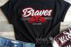 Brave, Braves Basketball, Sport, Design, PRINT, CUT, DESIGN example image 1
