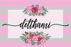 NEW Delthami Script || Elegant example image 1