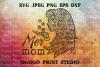Mermaid svg, Mom svg, Mandala svg, Zentangle SVG, Cricut example image 1