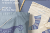 Winter Knitted Accessories Clipart & Scrapbooking Papers Set example image 13