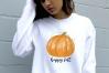 Fall Autumn Sublimation Bundle Watercolor Pumpkins Clipart example image 3