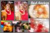 67 Christmas, overlays, photoshop PNG backdrop snow globe example image 6