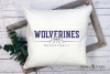 Wolverine, Basketball, Sport, Design, PRINT, CUT, DESIGN example image 3