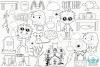 Mad Scientist Lab Digital Stamps example image 2
