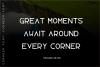 Corner font example image 3