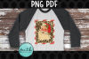 Santa with Leopard Print Fram example image 3