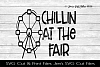 Chillin At The Fair SVG Cut File example image 1