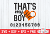 Basketball svg | That's My Boy example image 2