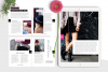 Hot Pink Fashion Canva template Ebook example image 6