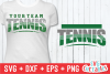 Tennis Template 002 | SVG Cut File example image 1