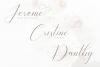 Bathey Calligraphy Font example image 8