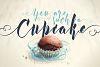 Kexman font + Cupcake photos example image 3