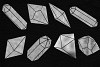 Silver Crystals Clipart example image 3