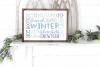 Christmas - Winter Subway Art SVG example image 2