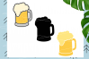 Beer Mugs svg example image 1