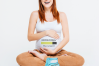 Pregnancy and Diapers Downloading SVG File Cutting Template example image 2