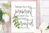 Perhaps this is the moment for which ... wall art printable example image 1