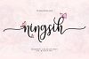 Ningsih Script | Luxury Font example image 1