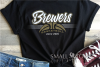 Brewer, Basketball, Sport, Team, Logo, PRINT, CUT, DESIGN example image 1