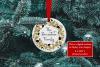 Christmas Ornament Mockup, PSD Smart Object & JPG example image 3