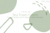 26 Sea Foam Green Brush Strokes and Abstract Pattern Element example image 2