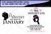 january girl svg vector cut file bundle 4 in 1 / printable january girl / miss january cut / princesses january svg / queen january svg example image 1