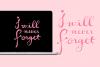 Short Lov - A Script Font example image 3