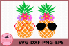 Pineapple with glasses SVG, Pineapples SVG, Flower Svg example image 1